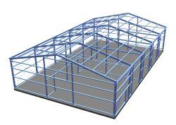 Hallenbau stahlbau konstruktion planung statik for Stahlbau statik beispiele